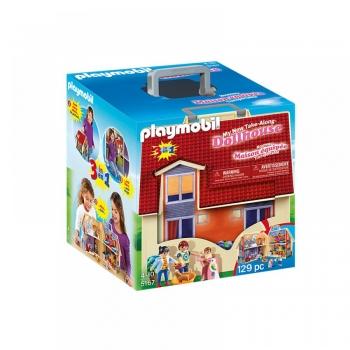 Playmobil Dollhouse Μοντέρνο Κουκλόσπιτο-Βαλιτσάκι (5167)