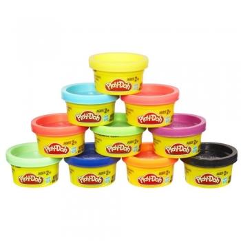 Hasbro Play-Doh 10 μίνι βαζάκια πλαστελίνης 22037