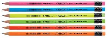 Μολυβί Me Γόμα Hb Neon 6tem Blister Lyra