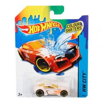 Hot Wheels Color Changers Χρωμοκεραυνοί - 7 Σχέδια 1 Τεμάχιο Mattel (BHR15)