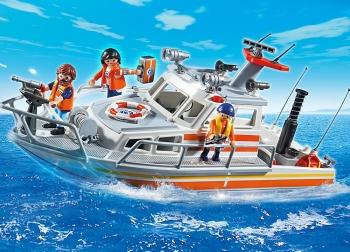 Playmobil Ταχύπλοο σκάφος Ακτοφυλακής (5540)