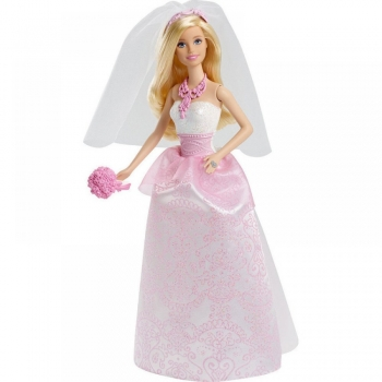Barbie Κούκλα Πριγκίπισσα Νύφη (CFF37)