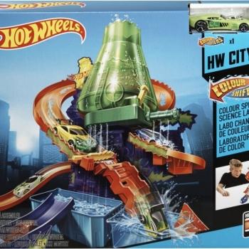 Mattel Hot Wheels: Εργαστήριο Χρωμοκεραύνων