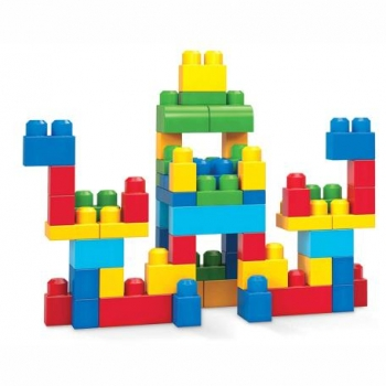 Mega Bloks Τουβλάκια - Τσάντα 60τμχ
