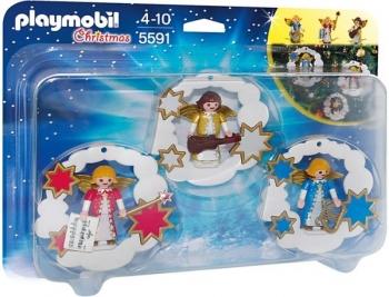 Playmobil Χριστουγεννιάτικα στολίδια-αγγελάκια (5591)