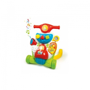Baby Clementoni Βρεφικό Παιχνίδι Σκουτεράκιας (Μιλάει Ελληνικά)