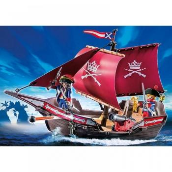 Playmobil Pirates Στρατιωτικό Πλοιάριο Περιπολίας (6681)