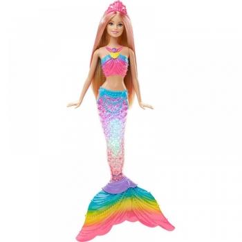 Barbie Κούκλα Γοργόνα Φωτεινή Ουρά (DHC40)