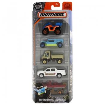 MATCHBOX Αυτοκινητάκια - Σετ Των 5 Σε 3 Σχέδια C1817