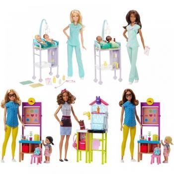 Barbie Σετ Επαγγέλματα (Διάφορα σχέδια) (DHB63)