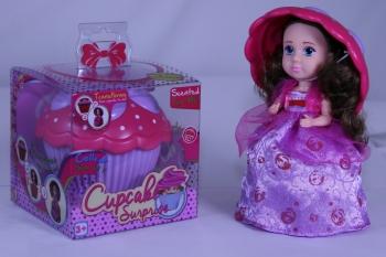 Cup Cake Surprise Princess Doll Cupcake