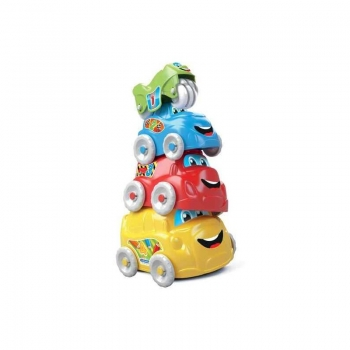 Baby Clementoni Πυραμίδα Χαρούμενα Αυτοκίνητα