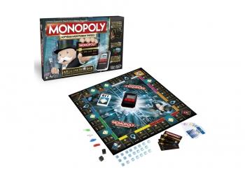 Hasbrο Επιτραπέζιο Monopoly Κορυφαία Ηλεκτρονική Τράπεζα
