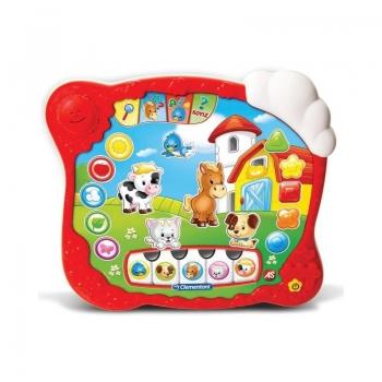Baby Clementoni Βρεφικό Παιχνίδι Το Πρώτο Tablet (Μιλάει Ελληνικά)
