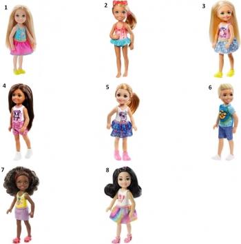 Barbie Τσέλσι & Φίλοι-8 Σχέδια (DWJ33)