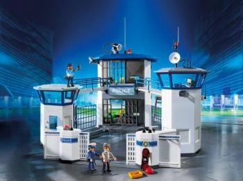 Playmobil Αρχηγείο Αστυνομίας & Φυλακή Ασφαλείας (6919)