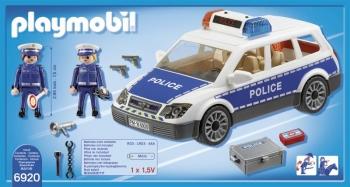 Playmobil Περιπολικό Όχημα Με Φάρο & Σειρήνα (6920)