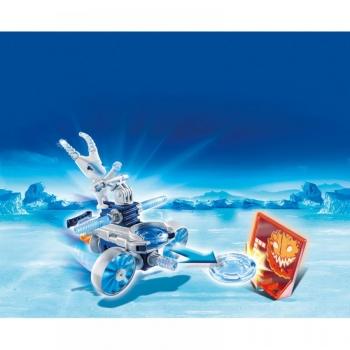 Playmobil Action Icefighter Με Εκτοξευτή Δίσκων (6832)