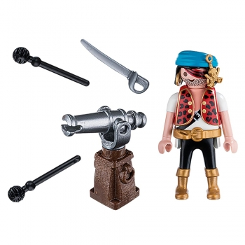 Playmobil Πειρατής με Κανόνι (5378)