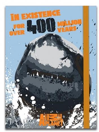 Σημειωματάριο Με Λάστιχο 10χ13, 5cm 4σχ 96φ Animal Planet