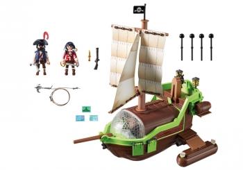 Playmobil H Ρούμπι με το πειρατικό Chameleon (9000)