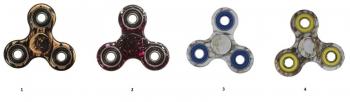 Σβούρα Fidget Spinner Avr-007 4 Σχεδία Plastic 2 Minutes