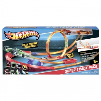 Mattel Hot Wheels Πιστά Με 2 Αυτοκινητάκια Y0276