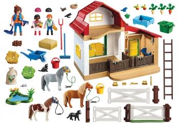 Playmobil Country Φάρμα Των Πόνυ