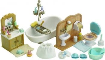 Sylvanian Families : Σετ Ολοκλρηρωμένο Μπάνιο Σπιτιού