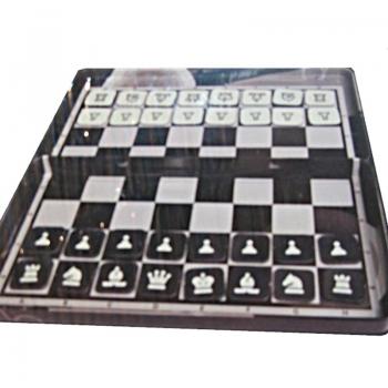 Classic Games Mini Μαγνητικό Σκάκι Και Ντάμα