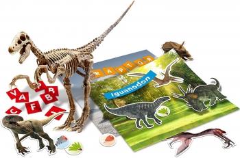 I\'m A Genius Dino 100 Stickers Velociraptor