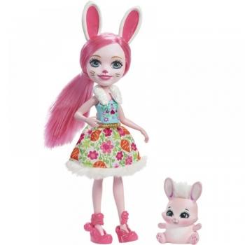 Enchantimals Κούκλα & Ζωάκι Φιλαράκι-11 Σχέδια (DVH87)