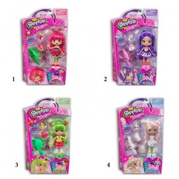 Shopkins Shoppies S3 Κούκλες - 4 Σχέδια