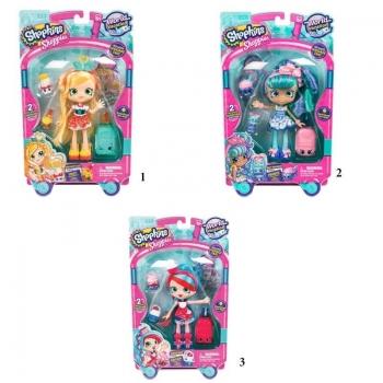 Shopkins Shoppies World Vacation S8 Κούκλες - 3 Σχέδια