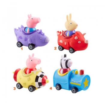 Peppa Pig Mini Οχηματάκια Πέππα - 4 Σχέδια
