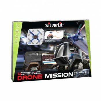 Τηλεκατευθυνόμενο 2.4G Όχημα Drone Mission