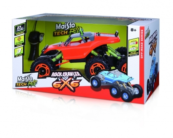 Maisto Tech Rock Crawler 6x6