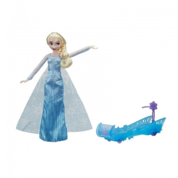 Hasbro Disney Frozen Sledding Adventures Elsa Με Έλκηθρο