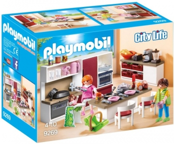 Playmobil Mοντέρνα Κουζίνα (9269)
