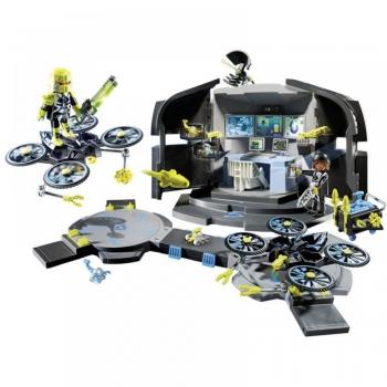 Playmobil Αρχηγείο Του Dr Drone (9250)