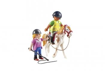 Playmobil Προπονήτρια και αθλήτρια ιππασίας 9258