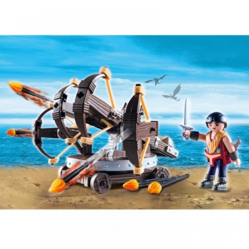 Playmobil Dragons Έρετ με 4πλή Βαλλίστρα & Βέλη Φωτιάς (9249)