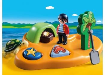 Playmobil Πειρατικό Νησί 1.2.3 (9119)