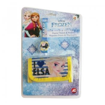 Ψηφιακό Ρολόι Και Πορτοφόλι Frozen