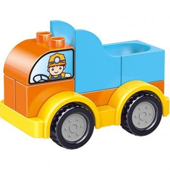 Τουβλάκια Οχήματα Σε Κουτί 9σχ