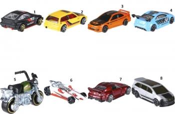 Hot Wheels Honda Αυτοκινητάκια-8 Σχέδια (FKD22)