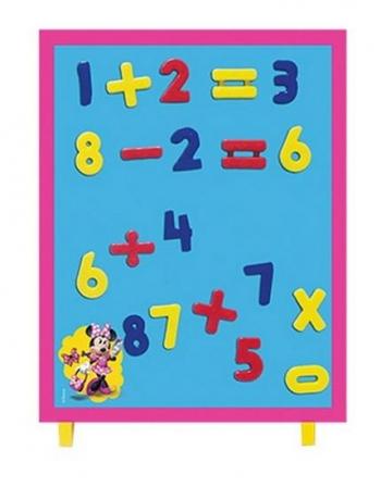 Μαγνητικός Πινάκας Αριθμοί Minnie 35tem