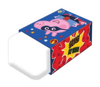 Γόμα Peppa Pig 4. 2x2. 5x1. 2cm