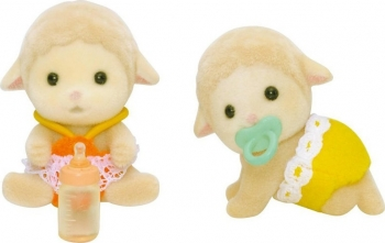 SYLVANIAN FAMILIES  :  SHEEP TWINS