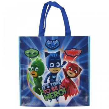 Τσάντα Αγορών Πολλαπλών Χρήσεων Pj Masks Gloss 4 Σχέδια (PJ61901)